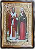 Икона Киприан и Устинья 35х30см