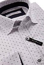 Рубашка мужская Kuba Белая с узором
