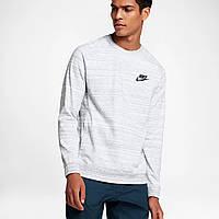 9299ee2d Толстовка Nike Sportswear Advance 15 Long-Sleeve Crew 861758-100 (Оригинал)