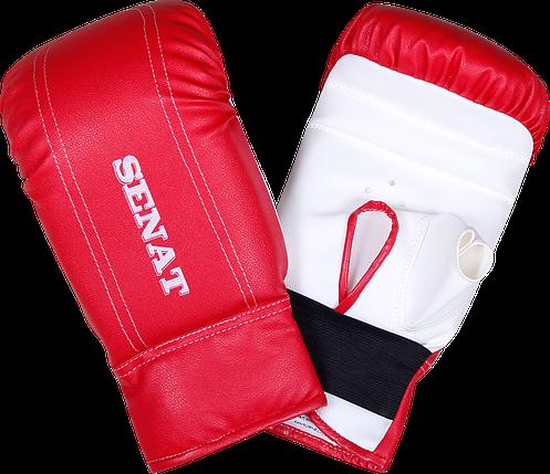 Перчатки снарядные, красно-белые, 1468-red/wht, фото 2
