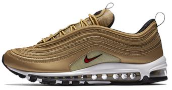 Женские кроссовки Nike Air Max 97 Premium Gold