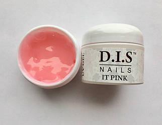Гель D.I.S IT Pink (розовый) джем, 30 мл.