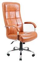 Кресло Вирджиния Хром Титан Коньяк (Richman ТМ)
