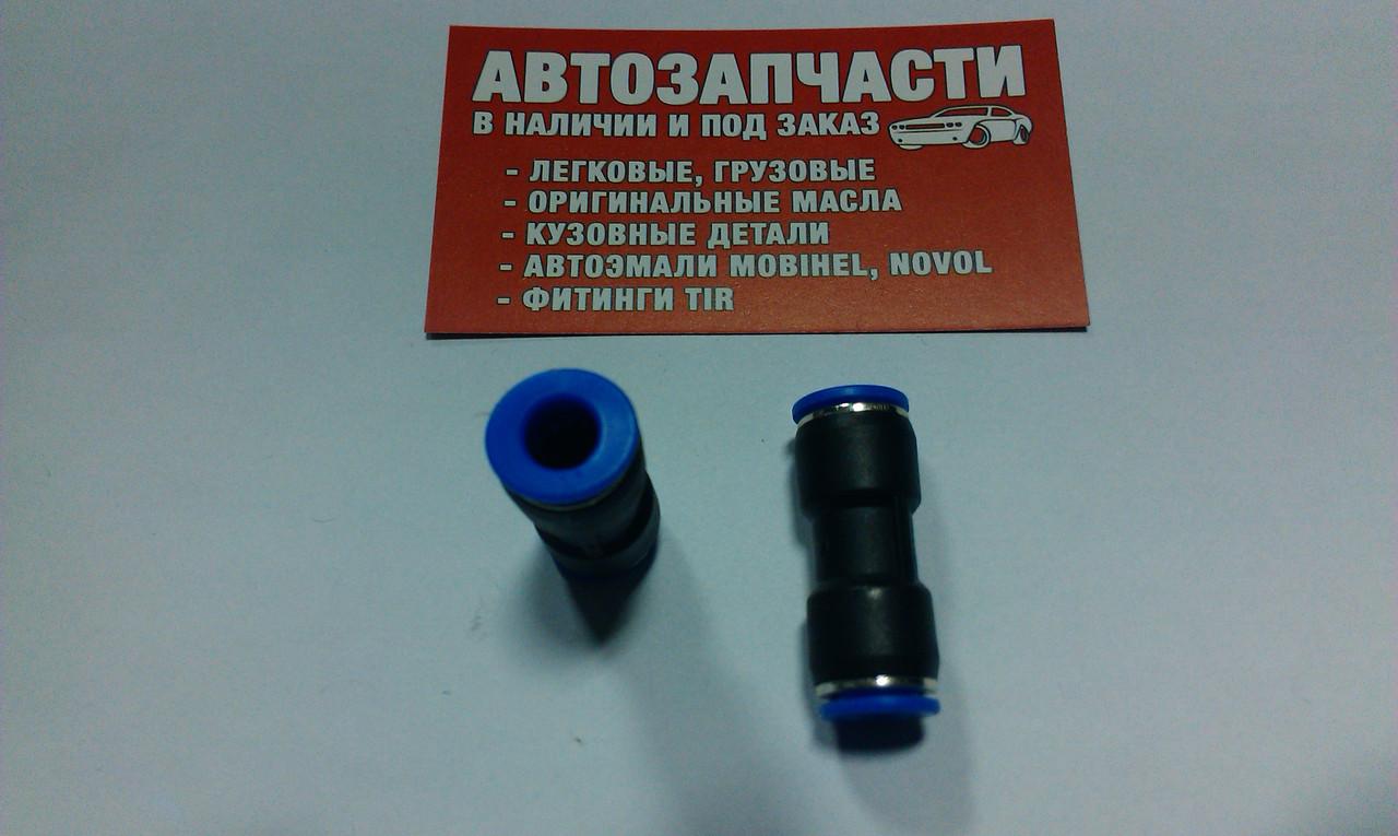 Соединитель трубки пластиковой (спасатель) Д=7 пр-во Турция