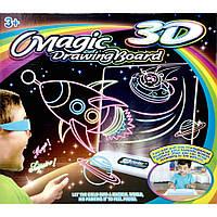 Доска для рисования детская с 3D-эффектом Magic Drawing Board