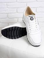 Мужские кроссовки NIKE в белой коже (Белый). АРТ- 6313-28.3