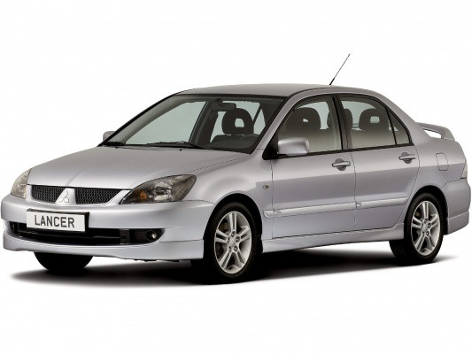 Лобовое стекло Mitsubishi Lancer-9 Sedan/ Estate (2002-2007)