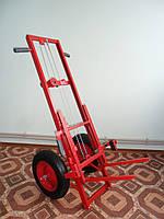 Тележка подьемник пасечная (АПИЛИФТ) ТП-01 полиуритановые колёса
