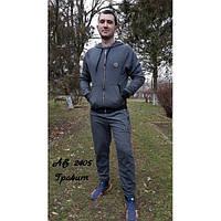 Мужской спортивный костюм с капюшоном Филип Плей, графит