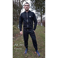 Мужской спортивный костюм с капюшоном Филип Плей, черный
