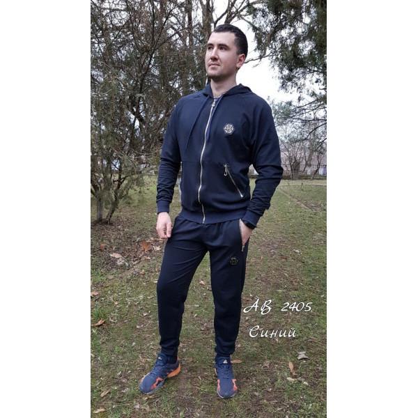 Мужской спортивный костюм с капюшоном Филип Плей, темно-синий