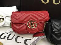 ХИТ!!Оригинальная  сумочка Gucci Lux из натуральной кожи  с номерным знаком 18051, фото 1