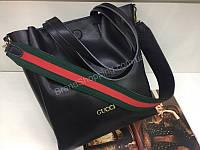 Стильная  женская сумка Gucci Lux в черном цвете 1811, фото 1