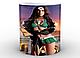 Кружка GeekLand Чудо-Женщина Wonder Woman на фоне Колизея WW.02.007, фото 2