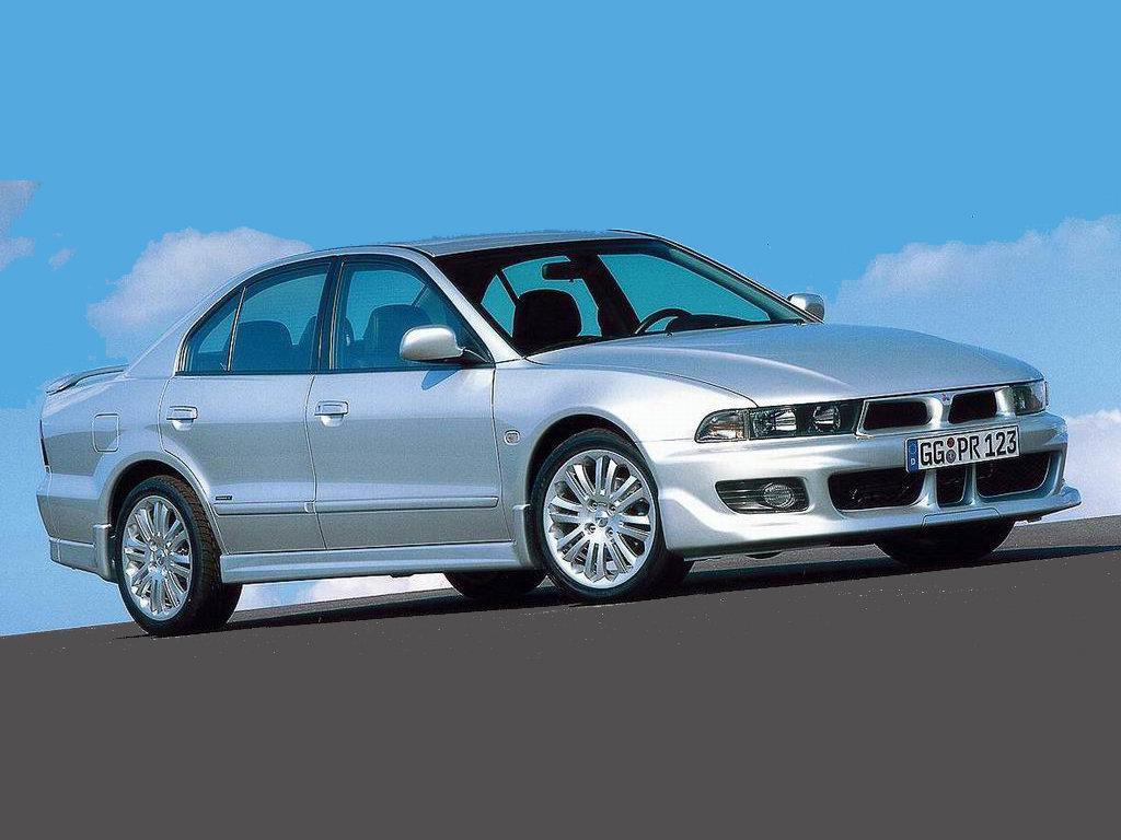 Лобовое стекло Mitsubishi Galant 4D (1996-2002)