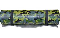 Каремат армейский камуфлированный «HUNTER» с ремешком 1800x550x10мм