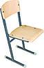 Школьный стул на полозьях