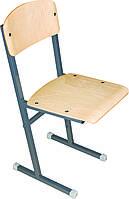 Школьный стул на полозьях, фото 1