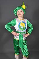 Детский карнавальный костюм ОДУВАНЧИК ЦВЕТОК на 3,4,5,6,7 лет маскарадный костюм ОДУВАНЧИКА ЦВЕТКА