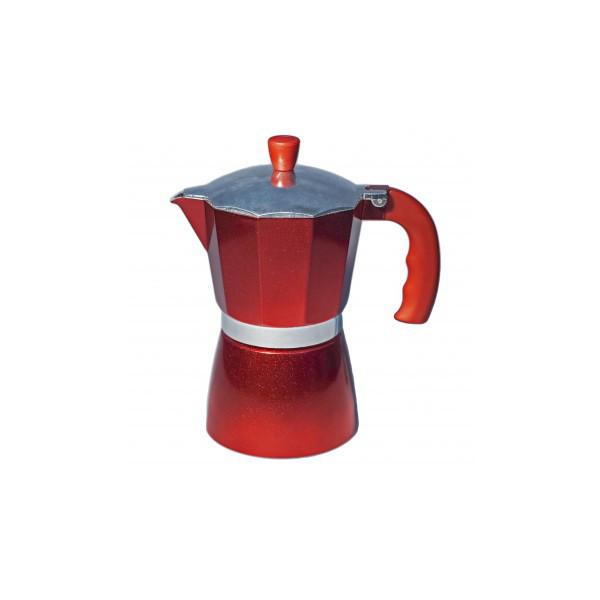 Кофеварка гейзерная Con Brio CB-6206 300мл алюм