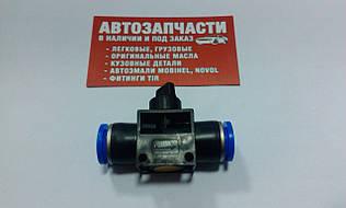 Фитинг пневматический грузовой прямой кран (спасатель) D 12 Турция