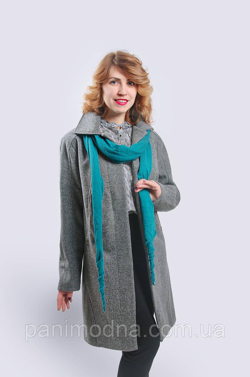 """Пальто женское модное """"Вива"""" на подладке из шерсти."""