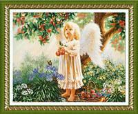 """Картина своими руками - алмазная вышивка """"Ангелочек"""""""