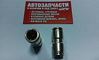 Соединитель трубки пластиковой (спасатель) стальной Д=12