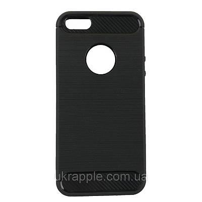 Чехол накладка для iPhone 5/5s/se Ultimate Experience черный