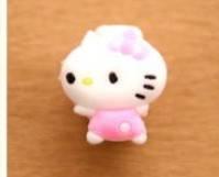 Защита для кабеля Hello Kitty с маленьким бантиком