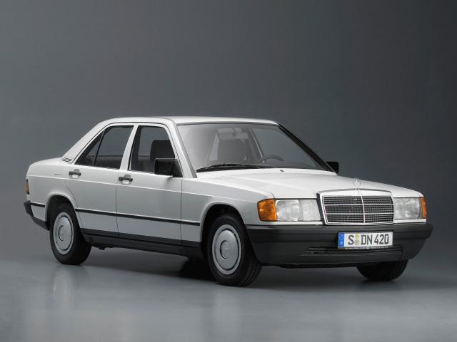 Лобовое стекло Mercedes W201 190Е (1985-1993)