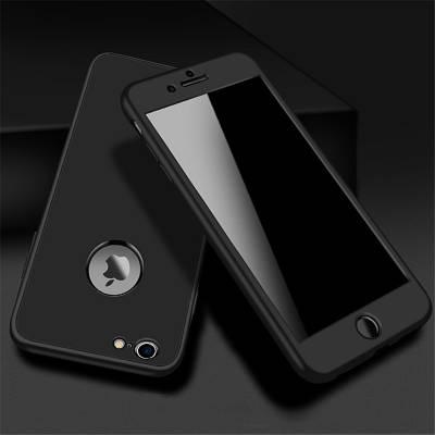 ЧехолнакладканаiPhone6 plus/6sPlusдвойной(надвестороны)черный