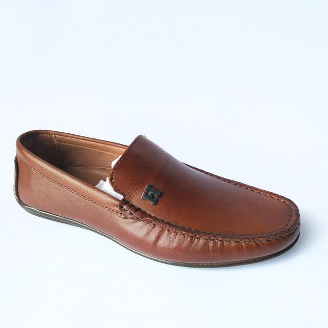 Повседневная rifellini обувь из натуральной кожи, коричневого цвета, под ложку мокасины