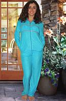 Махровый костюм (кофта и брюки) Код:1048