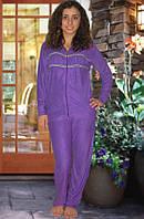Махровый костюм (кофта и брюки) Код:1050