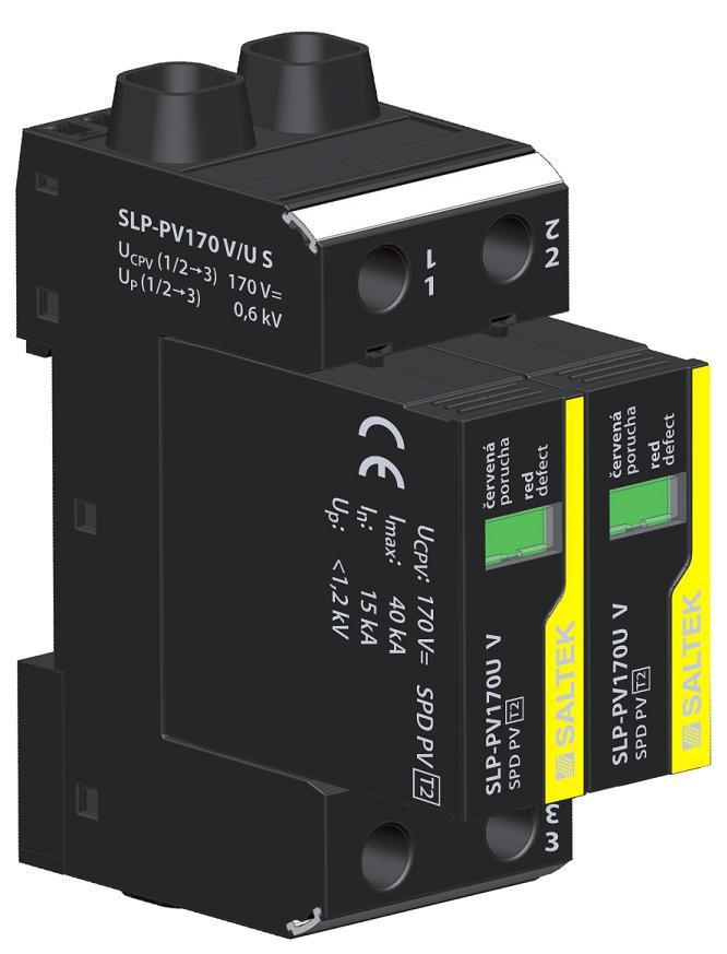 Ограничитель перенапряжения УЗИП SALTEK SLP-PV170 V/U