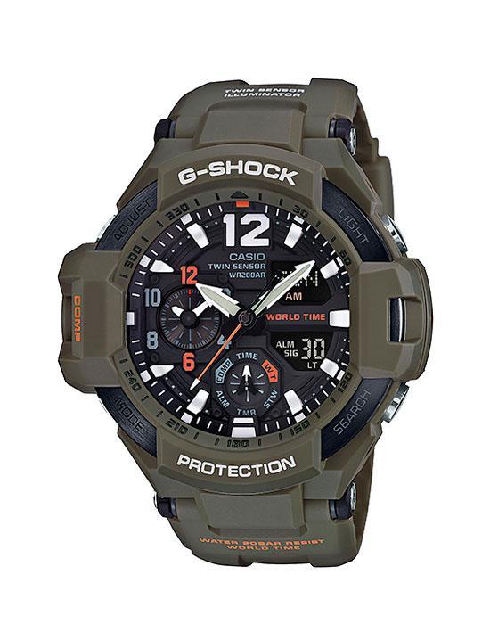 Часы Casio G-Shock GA-1100KH-3A GRAVITYMASTER