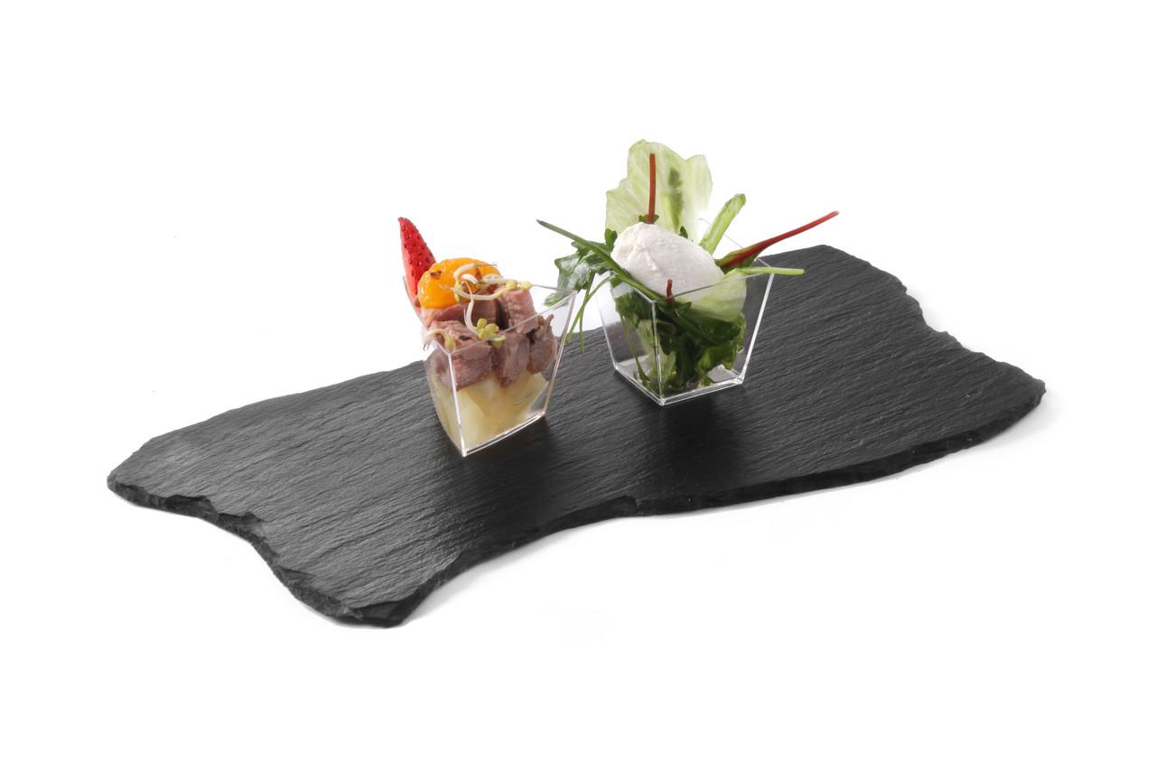 Блюдо сланцевое волнистое Hendi 424711 (набор 2шт)