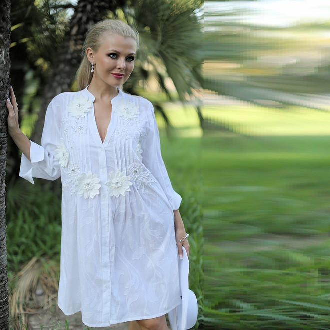 45c697f0f5d Летнее платье из натурального материала 325 F - Интернет-магазин Леди-лайн в  Харькове