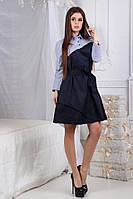 Платье комбинированное в расцветках 24133, фото 1