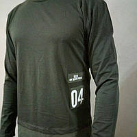 Мужская стильная футболка длинный рукав