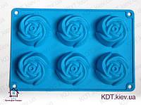 Форма силиконовая роза