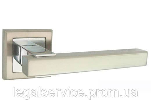 Дверная ручка на квадратной чашке USK Z-60106