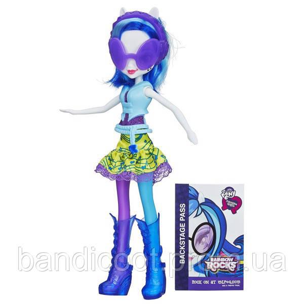 ДиДжей Пон Винил Скрэтч DJ PON-3Радужный Рок Неон  My Little Pony Equestria Girls DJ PON-3 Doll (Neon Rainbow