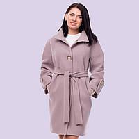 Женское кашемировое пальто. Модель 21. Размеры 46-54