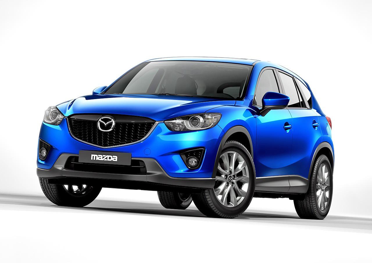 Лобовое стекло Mazda CX 5 с молдингом (2012-)