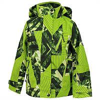Куртка softshell демисезонная JAMIE для мальчика 8 лет, р. 128 ТМ HUPPA Салатовый 18010000-82447