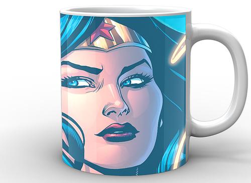 Кружка GeekLand Чудо-Женщина Wonder Woman face WW.02.020