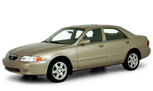 Лобовое стекло Mazda 626  Універсал (1998-2002)