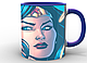 Кружка GeekLand Чудо-Женщина Wonder Woman face WW.02.020, фото 7